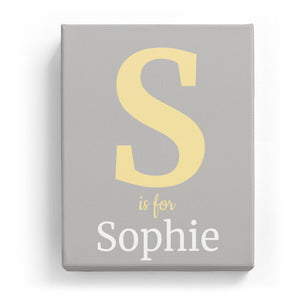 S is for Sophie - Classic
