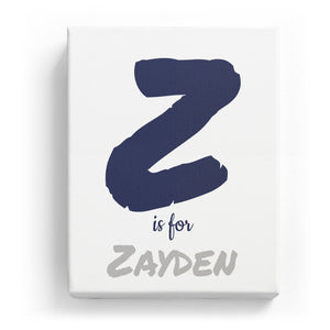 Z is for Zayden - Artistic