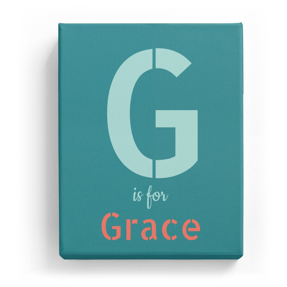 G Is For Grace Stylistic