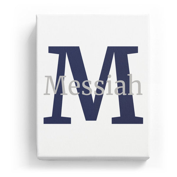 Messiah Overlaid on M - Classic