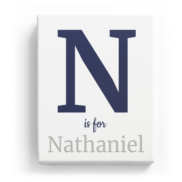 N is for Nathaniel - Classic