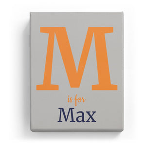 M is for Max - Classic