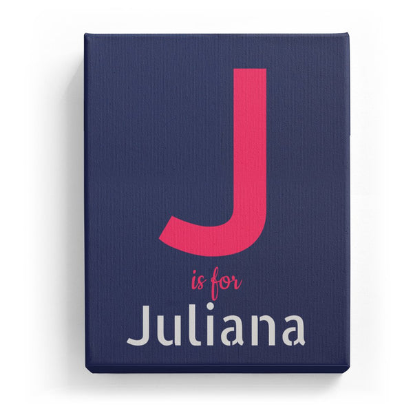 J is for Juliana - Stylistic
