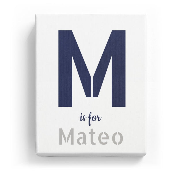 M is for Mateo - Stylistic