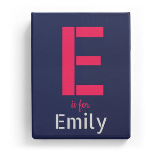 E is for Emily - Stylistic