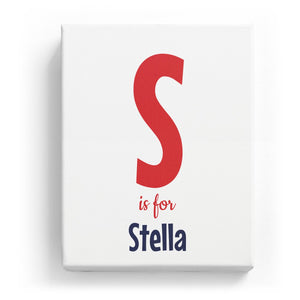 S is for Stella - Cartoony
