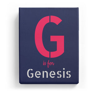 G is for Genesis - Stylistic