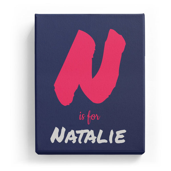 N is for Natalie - Artistic