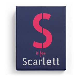 S is for Scarlett - Stylistic