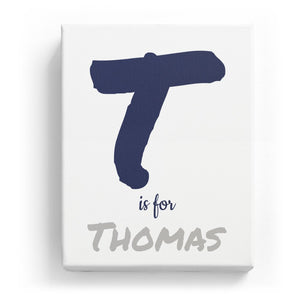 T is for Thomas - Artistic