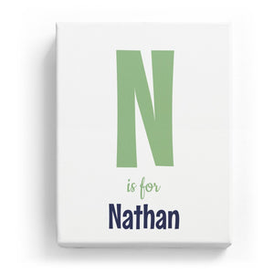 N is for Nathan - Cartoony