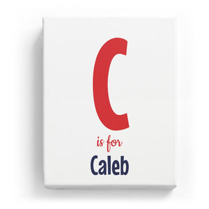 C is for Caleb - Cartoony