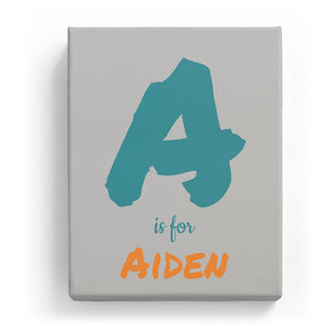 A is for Aiden - Artistic