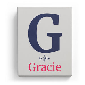 G is for Gracie - Classic