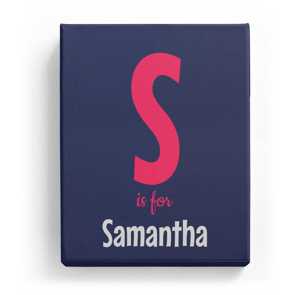 S is for Samantha - Cartoony
