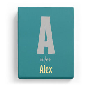 A is for Alex - Cartoony