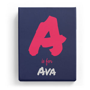 A is for Ava - Artistic