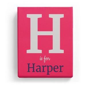 H is for Harper - Classic