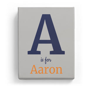 A is for Aaron - Classic