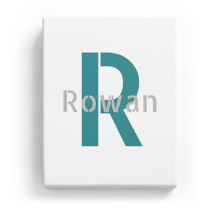 Rowan Overlaid on R - Stylistic