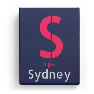 S is for Sydney - Stylistic