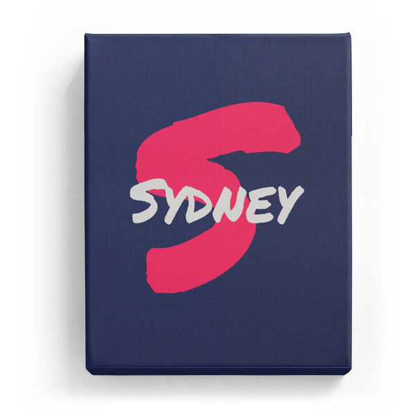 Sydney Overlaid on S - Artistic