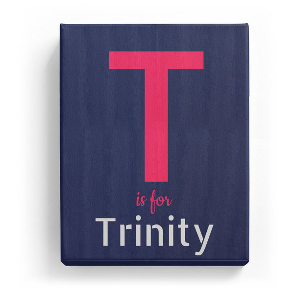 T is for Trinity - Stylistic