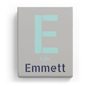 E is for Emmett - Stylistic
