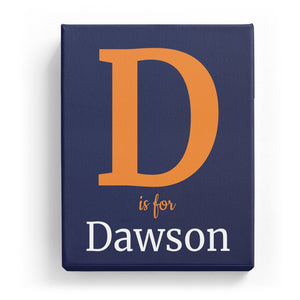 D is for Dawson - Classic