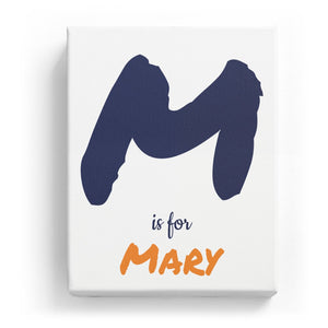 M is for Mary - Artistic