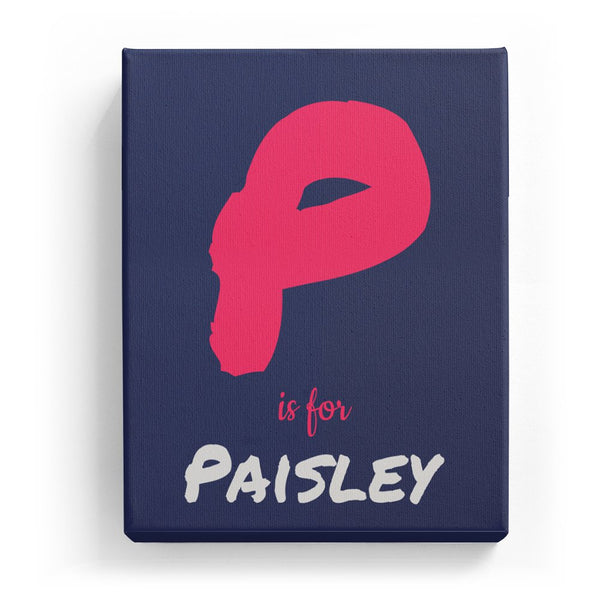 P is for Paisley - Artistic