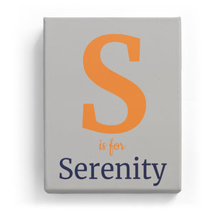 S is for Serenity - Classic