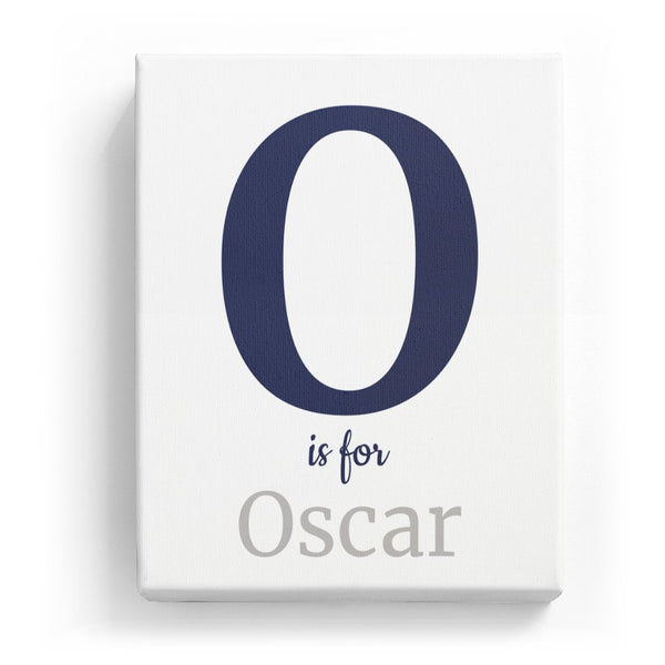 O is for Oscar - Classic