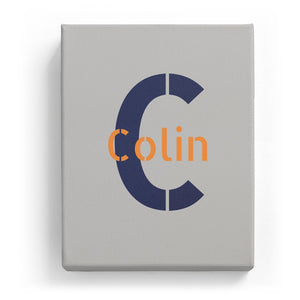 Colin Overlaid on C - Stylistic