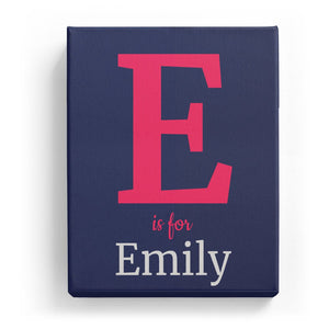 E is for Emily - Classic