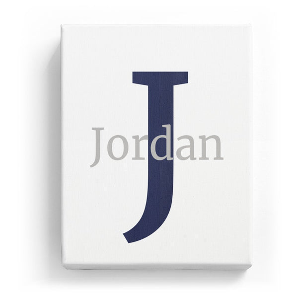 Jordan Overlaid on J - Classic