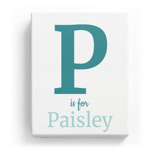 P is for Paisley - Classic
