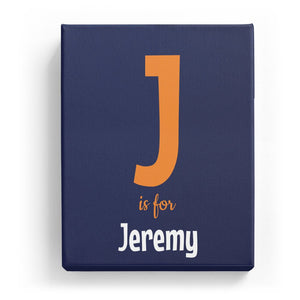 J is for Jeremy - Cartoony