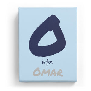 O is for Omar - Artistic