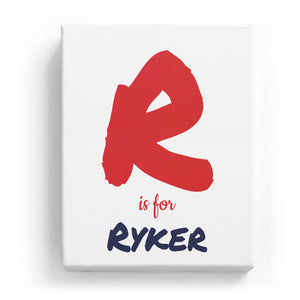 R is for Ryker - Artistic