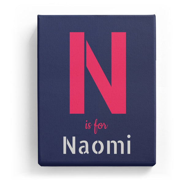 N is for Naomi - Stylistic