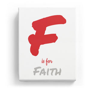 F is for Faith - Artistic