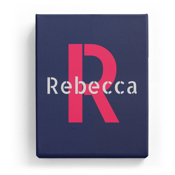 Rebecca Overlaid on R - Stylistic