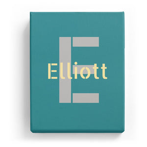 Elliott Overlaid on E - Stylistic