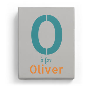 O is for Oliver - Stylistic