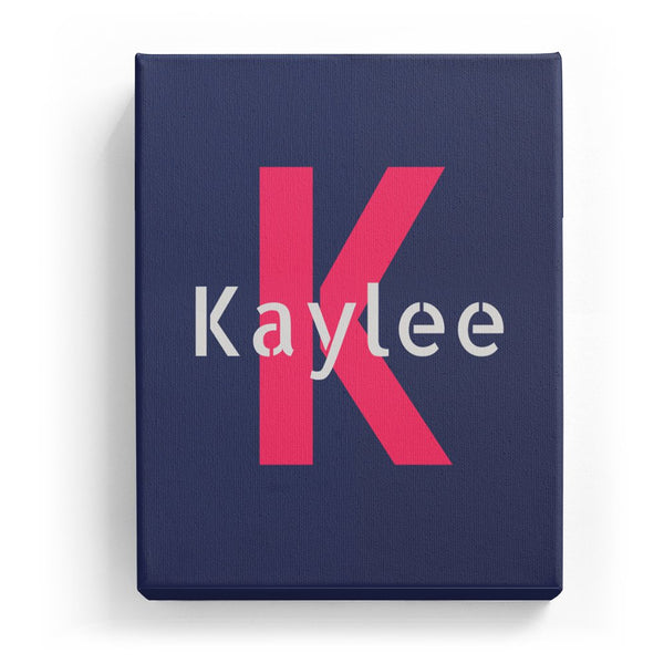 Kaylee Overlaid on K - Stylistic