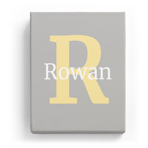 Rowan Overlaid on R - Classic