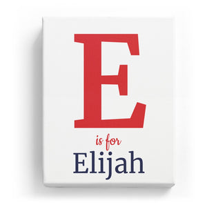 E is for Elijah - Classic