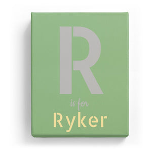 R is for Ryker - Stylistic