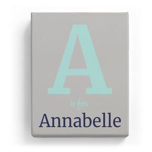 A is for Annabelle - Classic